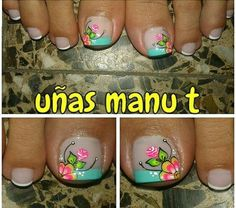 Toenail Art Designs, Pedicure Designs, Toe Nail Art, Love Nails, Finger, Lily, Fancy, Pretty Nails, Work Nails