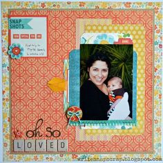 Oh So Loved - Scrapbook.com