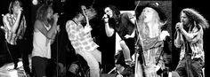 Mark Arm, Layne Staley, Kurt Cobain, Eddie Vedder, Andy Wood & Chris Cornell