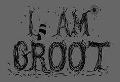 Guardians of The Galaxy I am Groot Geek Nerd I Am GrootTshirt T-shirt Funny Humor Men Women Ladies Unisex Tee Shirt Present Gift Kids
