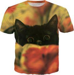 Peek-a-boo kitty https://www.rageon.com/products/peek-a-boo-cat-2?aff=HxeX on RageOn!  #cat #kitty #lovecats #catshirt #funnycat #cateyes #funnytshirt #gift #animal #blackcat #tshirt #dress #tanktop