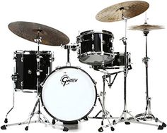 106 best Top 10 Full Drum Set For Sale images on Pinterest Gretsch Drums Renown 3 piece Jazz Shell Pack   Piano Black Premier Drum Set  Full Size Drum Set Virtual Drum Set Ion Drums Custom Drum Kits Gretsch Drum  Kit