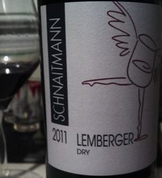 Schnaitmann Lemberger   It is well-crafted, with a great balance of acid, tannin, mineral, fruit, and spice.  The fruit is red berry with a few blues in their, too, and the spice is tobacco and pepper.  It is aromatic, with cherry, leather, and cow dung.  The latter might seem, well, off-putting, but it is a positive note of grass/wild herbs/wet straw.
