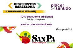 ¡Feliz día del pequeño comercio! Celébralo disfrutando de un 10% de descuento adicional en la tienda erótica online:  www.sexshopconsentido.es ¡Y regálate sexo feliz!