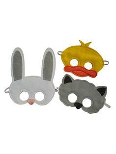 Mahalo Easter Animal Mask Set