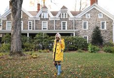 Dress (on repeat, last seen here). Toggle Coat: Land's End (also love this one, this one and this one). Boots: Hunter. Scarf: White and Warren (obsessed with this stripe scarf and bought this one). Hat:...Read More