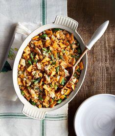 Green Bean-and-Barley Chicken Casserole  - CountryLiving.com