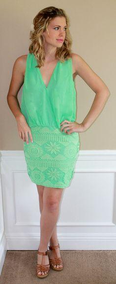 Magnolia Mill Mint Julep Party Dress
