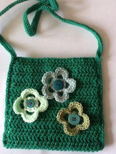 Small crocheted bag.