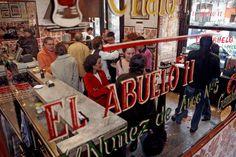 Los mejores bares de tapas de Madrid.
