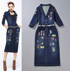 Plus size dress long 560