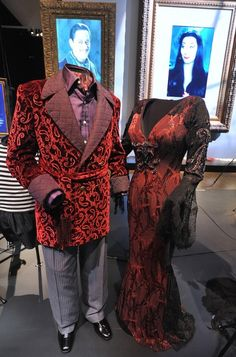 The Addams Family costumes at the V Hollywood Costume exhibit (now closed)