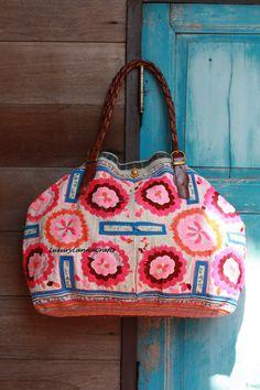 purse pattern via luxurylannacrafts on etsy