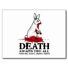 Monty Python and the Holy Grail Killer Rabbit art Starwars, Roi Arthur, Cosplay Anime, Geek Out, Movie Quotes, The Funny, Funny Pictures, Funny Pics, Wayfarer