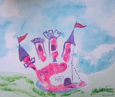 Custom Hand Print or Foot Print Art Artwork Painting Keepsake Momento Baby Crafts, Toddler Crafts, Crafts To Do, Preschool Crafts, Kids Prints, Art Prints, Hand Kunst, Footprint Crafts, Handprint Art