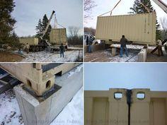 Gu a con los puntos claves para construir una casa con - Transformar contenedor maritimo vivienda ...