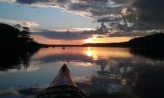 Crépuscule sur Saguenay