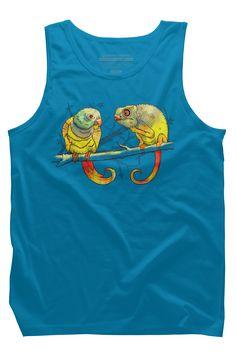 Parrot Mens Tank Top