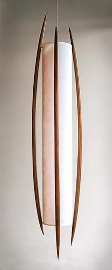 Massai by Michel Rouleau, Patricia Gendron: Wood Pendant Lamp available at www.artfulhome.com