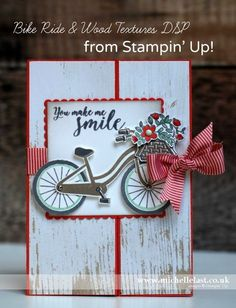 Bike Ride from Stampin' Up! for #GDP085