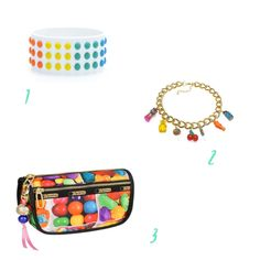 Dylan's Candy Bar – Bracelets  + Cosmetic Case #candy