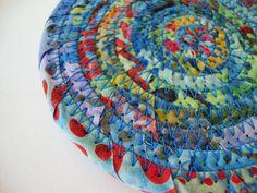 BLUE COASTER SET  Handmade Coasters  Blue Batik by Jambearies