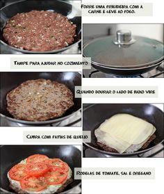 PANELATERAPIA - Blog de Culinária, Gastronomia e Receitas: Pizza de Carne Moída