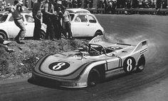 Vic Elford / Gerard Larrousse, #8 Porsche 908/03 (Martini Racing), Targa Florio 1971 (39th)