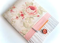 """Excited to share the latest addition to my #etsy shop: Rose Pink Laptop Case 11"""", 13"""", Laptop Sleeve 15"""", Laptop Sleeve Case Padded with Pocket - Wood + Floral http://etsy.me/2iodlFG #accessories #case #pink #anniversary #mothersday #beige #laptopcase13 #13laptopsleeve #13inchmac"""