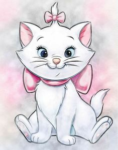 Marie Aristocats, Aristocats Tattoo, Gatos Disney, Disney Cats, Disney Phone Wallpaper, Cartoon Wallpaper, Disney Images, Disney Pictures, Marie Cat