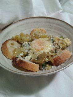 Senza pannaZuppa  di carciofi e  papate alla maniera di Sezze  http://www.senzapanna.it/2014/03/zuppa-carciofi-e-patate-ispirata-sezze.html