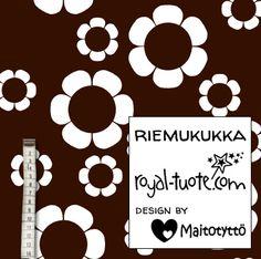 Riemukukka joustofrotee, suunnittelija Maitotyttö