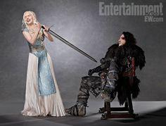 Game of Thrones - Daenerys & Jon Snow