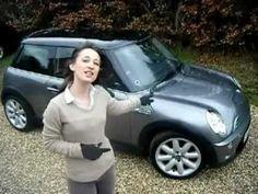Girl Petrol Head Reviews Mini Cooper S R53 Top Gear Style!!