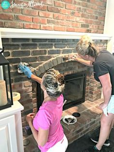 8 best black brick fireplace images diy ideas for home fire rh pinterest com