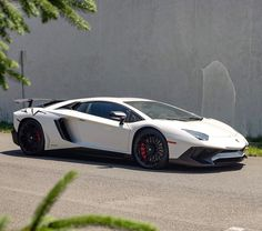 Lamborghini Aventador Super Veloce Coupe painted in Bianco Canopus  Photo taken by: @jbh1126 on Instagram (@christaurosa on Instagram is the owner of the car)