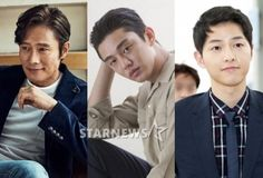 Lee Byung-hun VS Yoo Ah-in VS Song Joong-ki, who will take home the Baeksang Arts Awards?