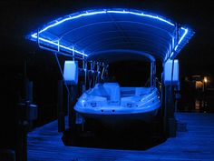 We also carry a full line of marine lighting products including dock lights and pole fish lights. Description from coastlineboatliftcovers.com. I searched for this on bing.com/images