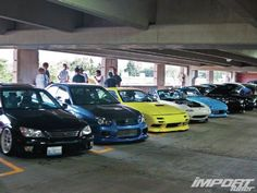 Check out this colorful, powerful, and intense car lineup at Another Level Car Show