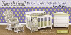 New Furniture Packages including Cotton Tale Bedding! http://www.cottontaledesigns.com/pages/nursery-furniture  Free Shipping!