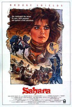 Sahara è un film realizzato nel 1983 dal regista Andrew V. McLaglen. Nel cast figuravano Brooke Shields, Lambert Wilson, John Mills e Horst Buchholz. La protagonista, interpretata da Brooke Shields, è una giovane aspirante alla vittoria di una gara internazionale automobilistica che si svolge nel Sahara, e che la vedrà oggetto di un rapimento da parte di beduini del deserto impegnati in guerre tribali.
