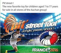 Désormais dans les magasins Auchan...