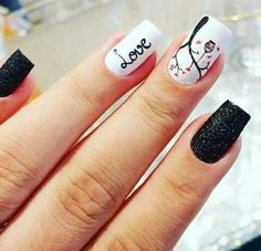 Perfect Nails, Manicure, Nail Art, Beauty, Nail Ideas, Work Nails, Amor, Fingernail Designs, Make Up