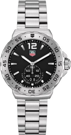 WAU1112.BA0858   NEW TAG HEUER FORMULA 1 MENS QUARTZ WATCH    Usually ships within 3 months - Click to View Mother's Day Luxury Watch Sales Event  - FREE Overnight Shipping - No Sales Tax (Outside California) - With Manufacturer Serial Numbers - Black Dial- Date Feature - Battery Operated Quartz Movement- 3 Year Warranty- Guaranteed Authentic - Certificate of Authenticity- Scratch Resistant Sapphire Crystal- Brushed Steel Case