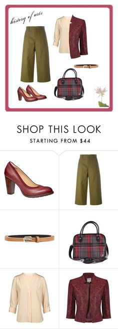 history of arts by gui-12791 on Polyvore featuring Diane Von Furstenberg, Phase Eight, Sofie D'hoore, Hush Puppies and Fred Perry