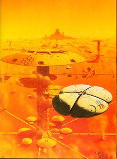 Nova 4 by Peter Elson, Science Fiction Illustrator Arte Sci Fi, Fantasy Kunst, Sci Fi Fantasy, Norman Rockwell, John Heartfield, Albert Robida, Sci Fi Kunst, Science Fiction Kunst, Space Opera
