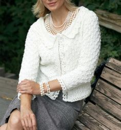 FREE PATTERN - Sit in style with this luxurious knit cardigan pattern. This Beverly Hills Cardigan will make you feel rich with its satin yarn and sophisticated pattern. Knit Cardigan Pattern, Crochet Cardigan, Knit Crochet, Knit Lace, Long Cardigan, Free Crochet, Free Knitting Patterns For Women, Knit Patterns, Sweater Patterns