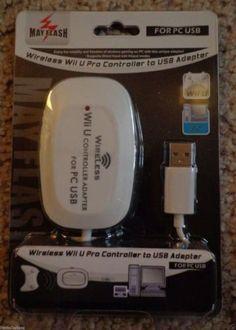Mayflash wireless Nintendo Wii U Pro controller adapter to USB PC & PS3 NEW