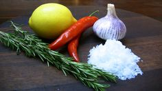 Fragrant Salts - spice up your meals with a little something extra and add some flavoured salts