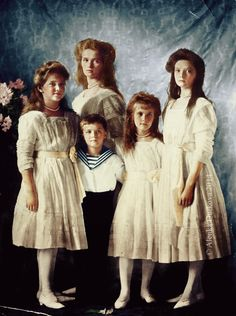The Imperial children, 1910